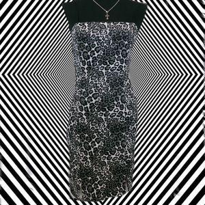 Cheetah stretchy Dress